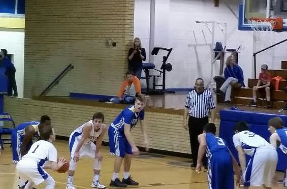 Trey Winkler hit12-of-13 free throws during the game(Photo courtesy of V. Barney).