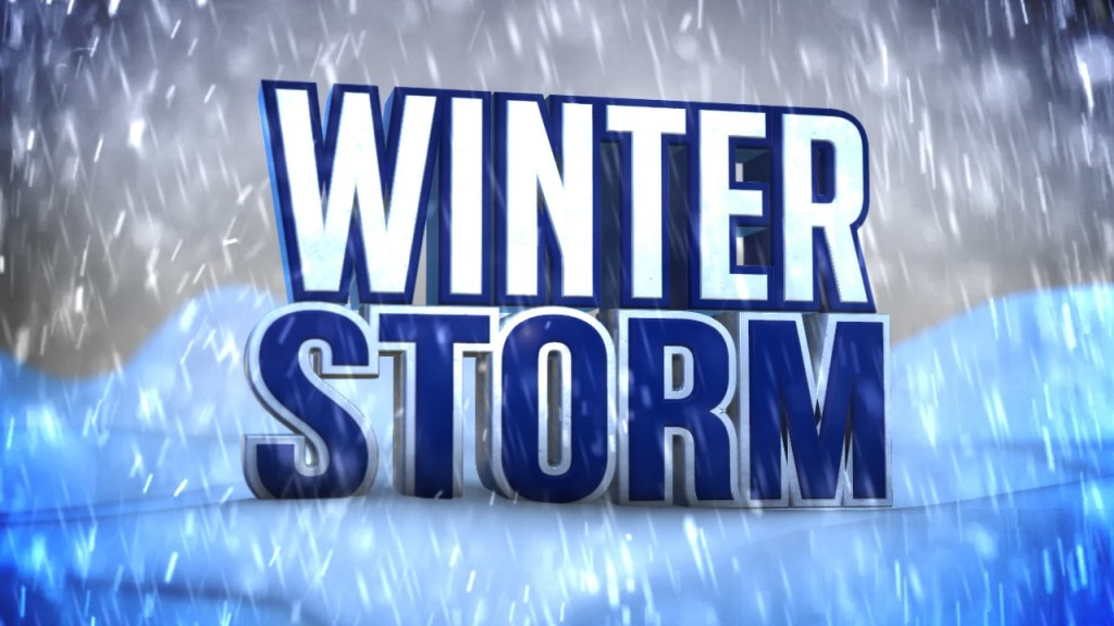 Winter Storm Warning Until 6 PM Friday For Some - 9 PM For Others