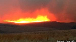 Summer pasture burning is underway