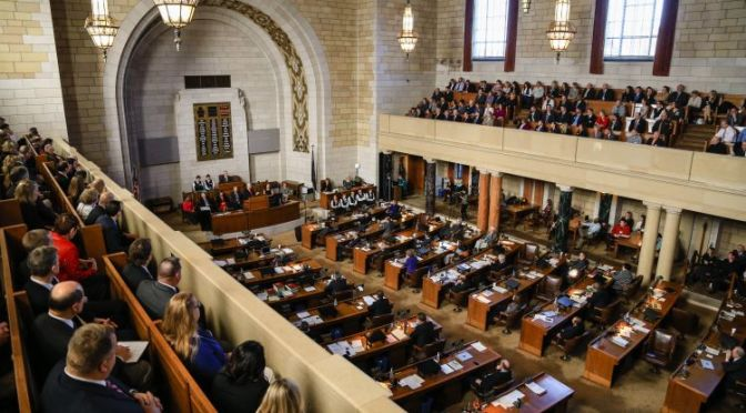 Courtesy/Associated Press. Nebraska Legislature.