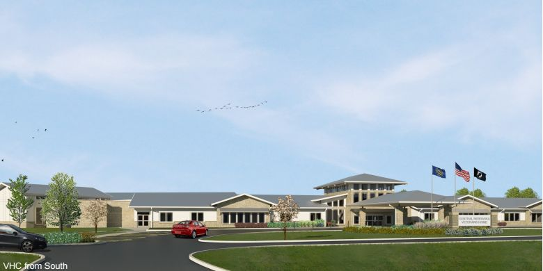 Official: New veterans home at Kearney nearly half complete