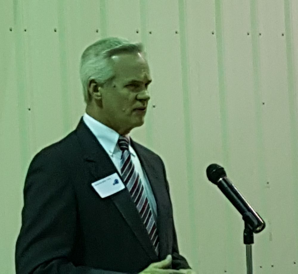 RRN/ Lt. Gov. Mike Foley was featured speaker at a  ceremony in Callaway to dedicate the largest solar array system in Nebraska on Monday March 14, 2014.