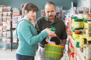 Supermarket shenanigans