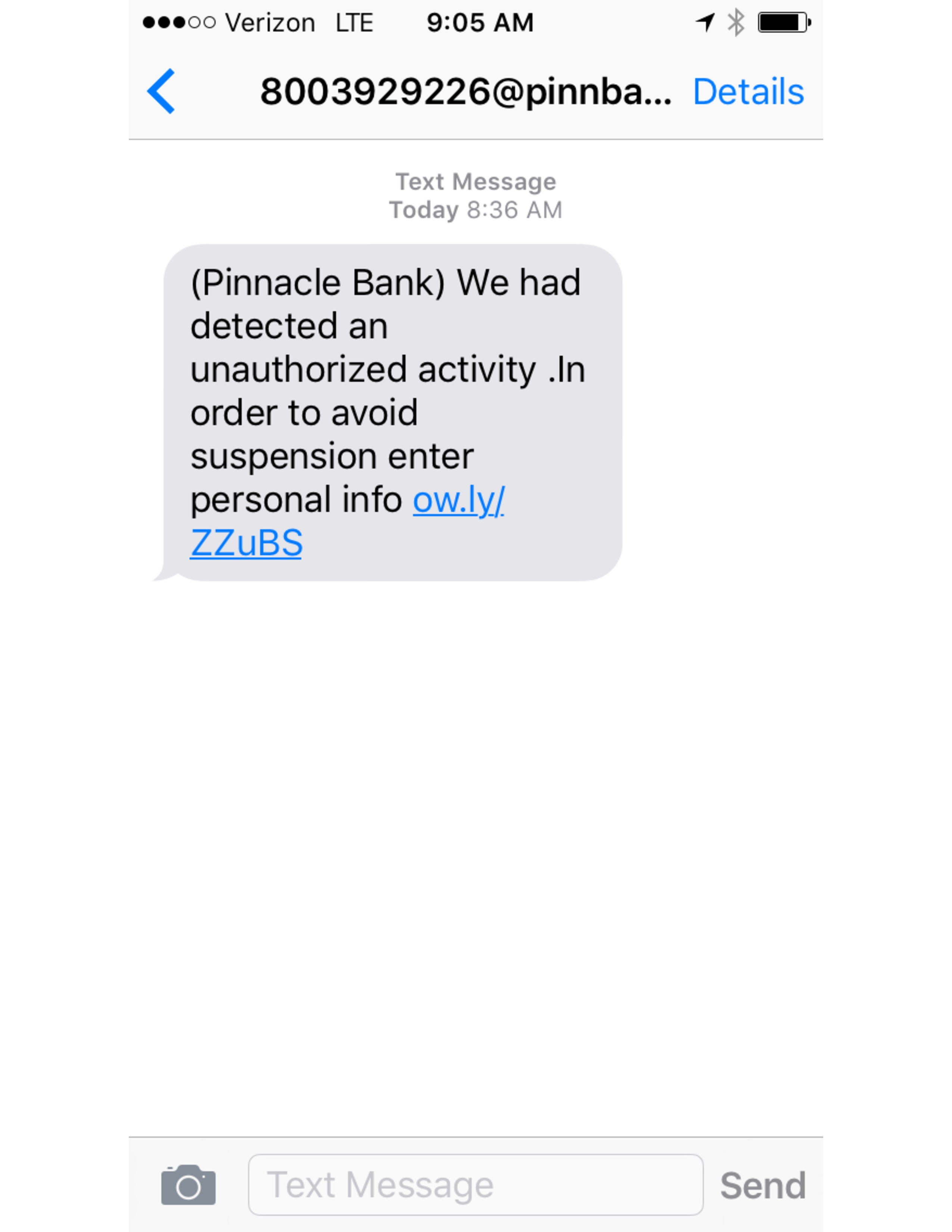 Courtesy nebraska attorney general s office text message scam image