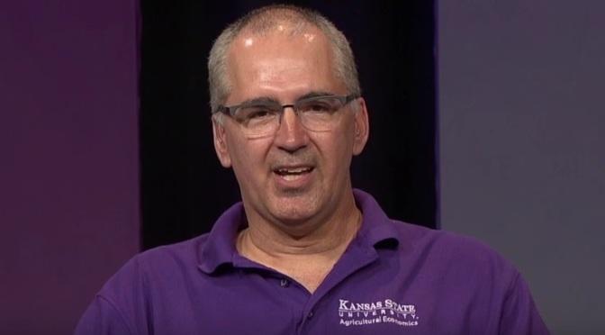 Gregg Ibendahl, Kansas State University associate professor of ag economics. (Image courtesy of Market Journal)