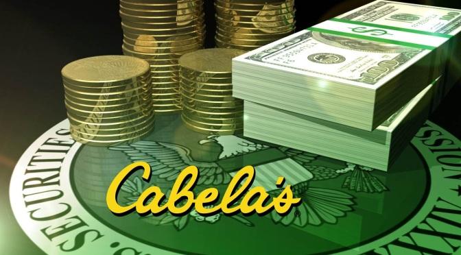 Cabelas SEC