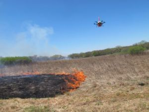 University of Nebraska Engineers Develop Drone to Ignite Prescribed Burns