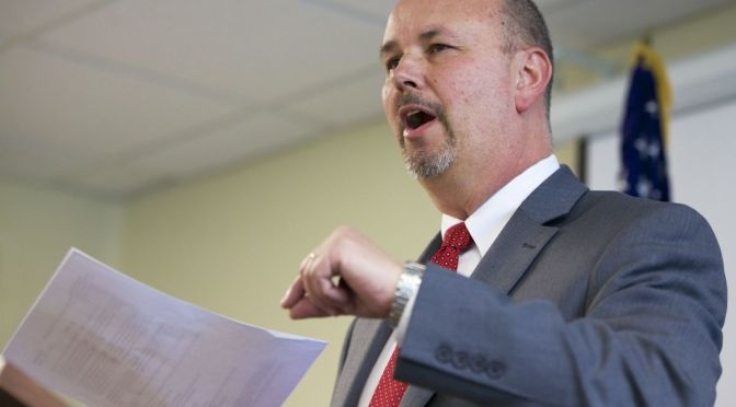 Courtesy/AP. Scott Frakes, director of the Nebraska Department of Corrections, speaks at a news conference in Lincoln, Neb., Monday, May 11, 2015, after two inmates were found dead at the Tecumseh State Correctional Institution, a maximum security prison in southeast Nebraska, when officers regained control from prisoners who seized at least part of the facility a day earlier. Nebraska corrections officials believe the two inmates killed during a disturbance were likely killed by other inmates.  (AP Photo/Nati Harnik)