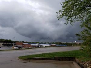 Brief tornado that struck Omaha rated EF1, service says