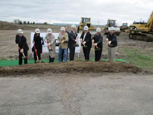 (Audio) Ground Is Broken For New OCT Pipe Plant North Of Norfolk