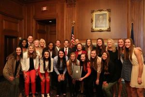 Huskers Enjoy Trip To Washington DC
