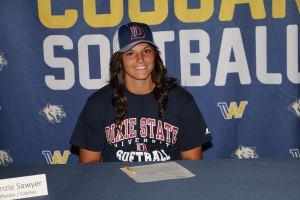 Sawyer signs with Dixie State