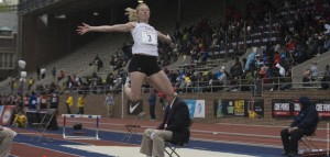 Reuwsaat placed fourth in long jump at Penn Relays