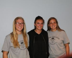 Three Cougar soccer players will make move to next level