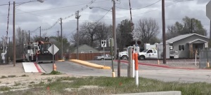 9th Avenue Railroad Crossing in Scottsbluff closed for repairs