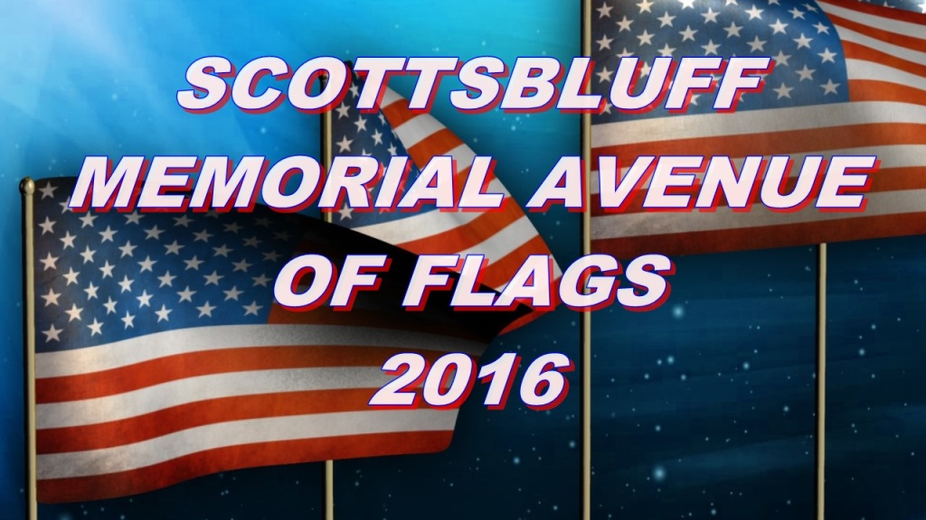Memorial Avenue of Flags to go up Friday