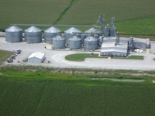 The Andersons, Inc. Fairmont, Ne facility. (Image courtesy of The Andersons)