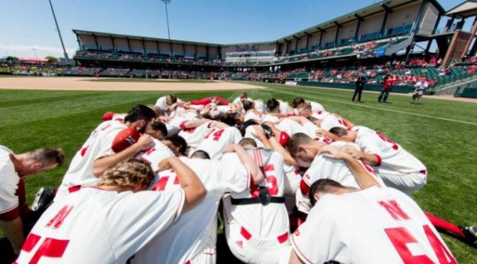 Nebraska plays Oklahoma State on Friday at 11 a.m. Photo Courtesy Nate Olsen/Nebraska Communications