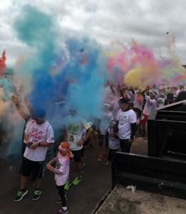 United Way benefits from colorful Saturday event