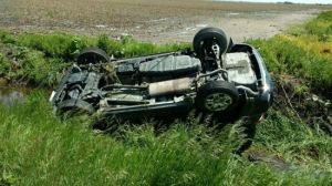 Rural Lexington rollover sends one to the hospital