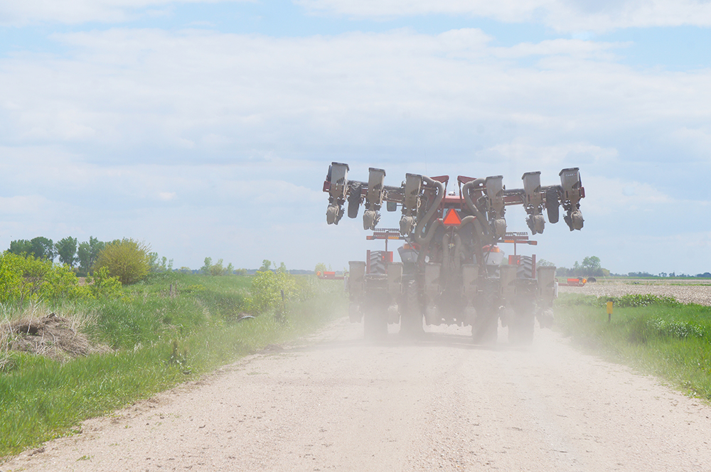 Lessons on Sharing the Road During Planting Season
