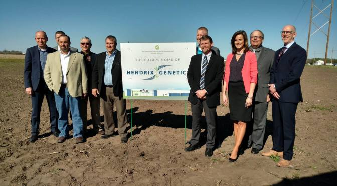 Hendrix Genetics Groundbreaking