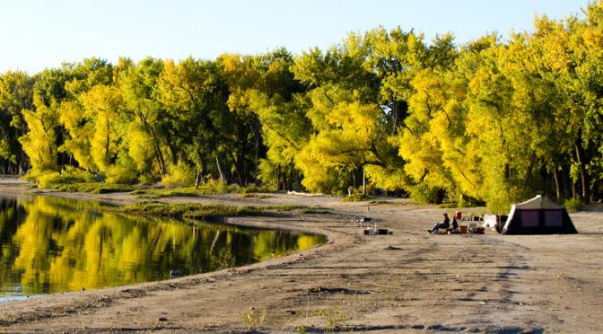 Lake minatare camping