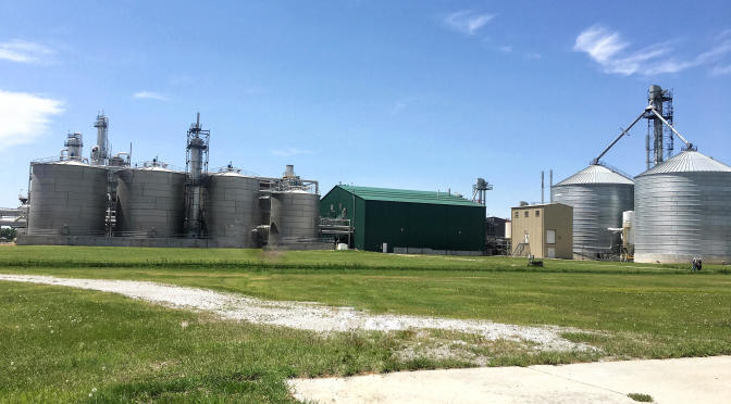 The Cornhusker Energy ethanol plant at Lexington, Ne will begin operating as Chief Ethanol Fuels, Inc. immediately.  (RRN Photo)