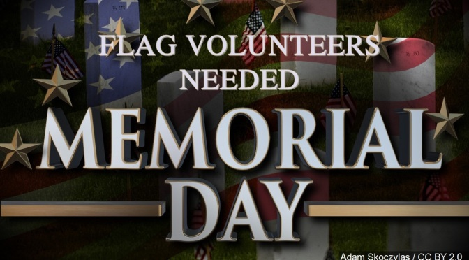Memorial Day Flag Vols grphcs