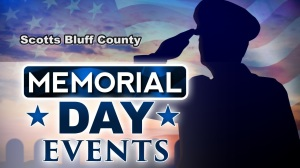 Schedule and Times for Scotts Bluff County Memorial Day Services