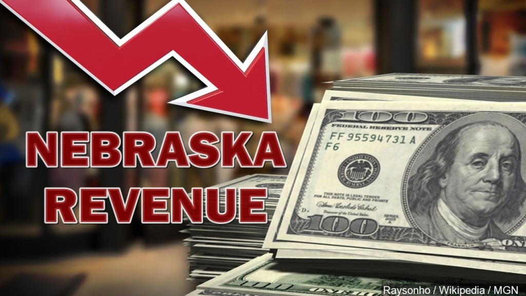 Nebraska collects $34 million less tax revenue than expected