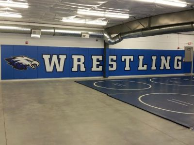Overton Wrestling Room 1