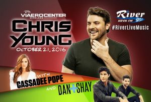 Chris Young extends headlining