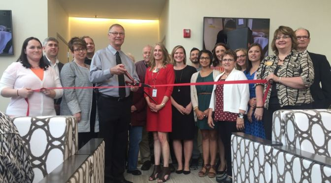 RRN/ Lexington Regional Health Center holds ribbon cutting Monday May 2, 2016 on it's new Outpatient Services Center.   Pictured include LRHC administrative staff, board members and Lexington Area Chamber of Commerce Ambassadors.