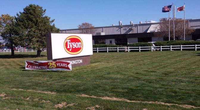 RRN/ Tyson Fresh Meats beef complex in Lexington.
