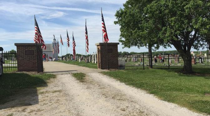 St. Michael Cemetery on Memorial Day