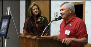 Dr. Schlothauer receives Gering Convention Bureau's Volunteer