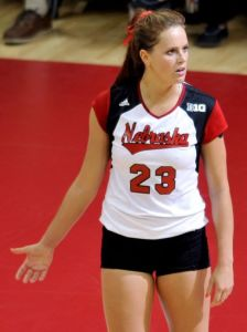 Former Husker Robinson wins volleyball title in Italy