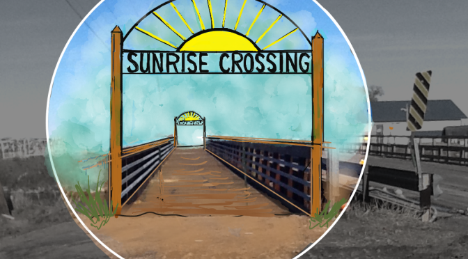 Sunrise Crossing bridge/ courtesy