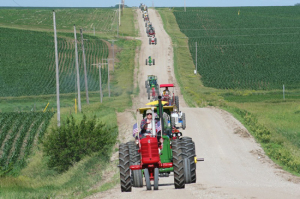 (Audio) Eastern Nebraska Tractor Ride Is Coming Up June 11th