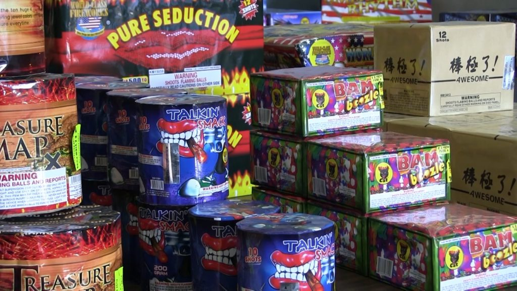 New Year's fireworks sales begin