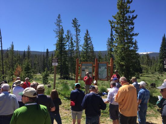 (AUDIO) Water and Natural Resources Tour gets wet in Colorado