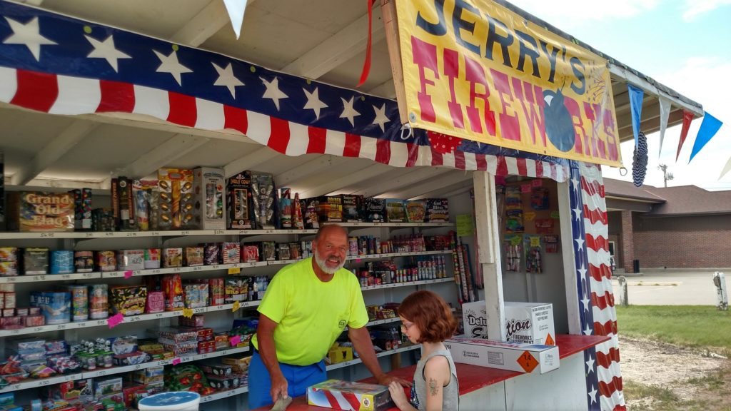 (Audio) Fireworks Stands Open In West Point