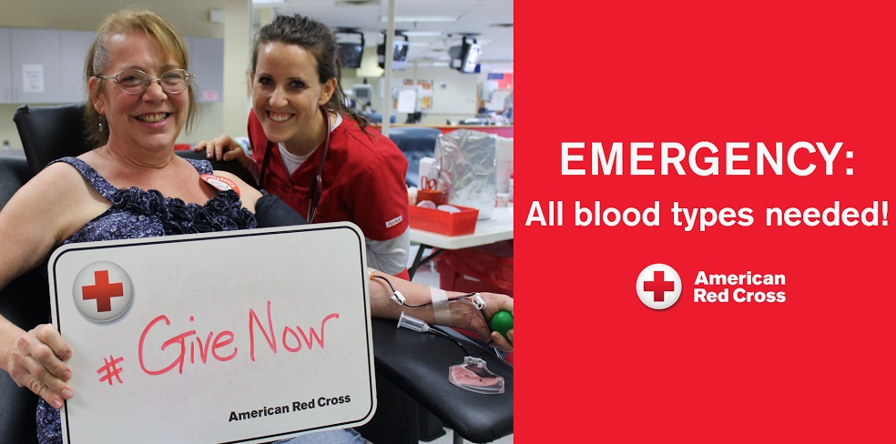 (Audio) Critical Blood Shortage - Red Cross To Be In West Point