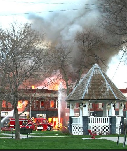 A Devastating Fire April 1 2007 Destroyed The Historic Rks Building On South