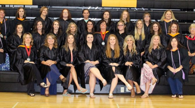 Courtesy/ Mid Plains Community College.   LPN_2016 - A total of 23 students graduated from MPCC's LPN Program on Thursday. Pictured back row, left to right are: Instructors Nicole Kissinger, Brett Niemeth and Becky Schrunk, students Alisha Garcia, Tamera Rosane, Morgan Coady, Shelly Landry, Bobbi Gustason and Lana Watson, instructor.   Middle row left to right: Instructor Terri Weaver, students Ashley Law, Crystal Gartrell, Hollie Graves, Tina Holm, Hanna Kelley, instructor Marina Makovicka, students Kaytlynne Walker, Dawn Westerbuhr and Tina Berglund and instructors Stephanie Seamann and Dawn Mallory.   Front row left to right: Kathy Harrison, director of nursing, students Megan Fiechtner, Cortney Lewandowski, Shayna Hanks, Ashleigh Cardwell, Cora-Leigh Seaman, Shayla Hecht and instructor Maria Young.   Not pictured were students: Crystal Mayhew, Ali Ryan, Tammy Watson and Barbara Eromomene.