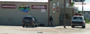 Fire crews battling blaze at Whiteclay store