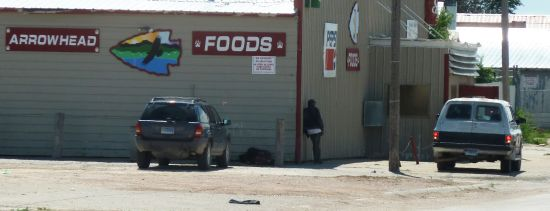 Courtesy/Associated Press. In this Aug. 8, 2013 photo is one of the businesses in Whiteclay, Neb., just south of the Pine Ridge Indian Reservation. (AP Photo/Carson Walker)
