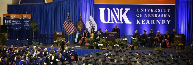 Courtesy/UNK. Graduation.