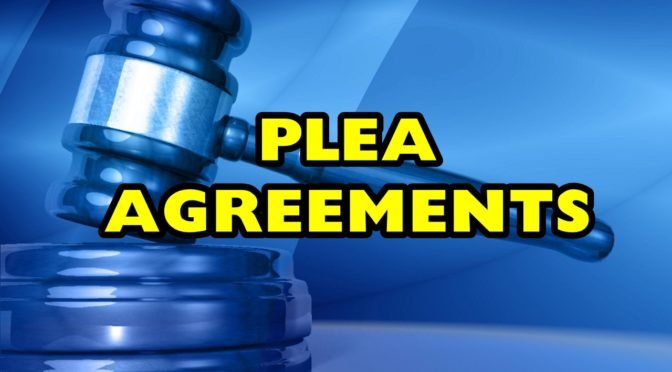 Plea agreements